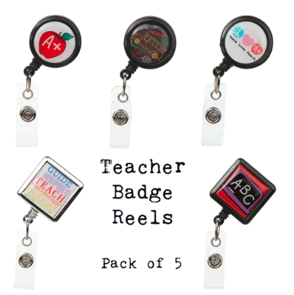 Cute Retractable Badge Holders for Teachers - BooJee