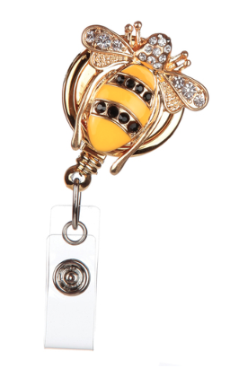 Queen Bee Badge Reels
